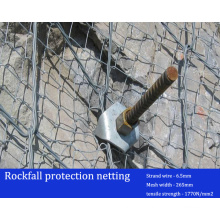 Rockfall Stabilization Protection Mesh / Netting