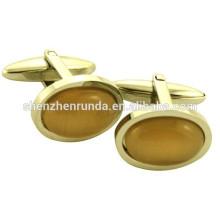 China Großhandel Edelstahl Metall Manschettenknopf Herstellung für Männer