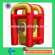 Machine publicitaire gonflable publicitaire / machine à caisse gonflable / caisse gonflable à caisse à vendre
