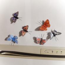 DIY manualidades con mariposas