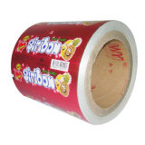 aluminum foil wrapping paper with wax for chewing gum, gravure printing,waterproof,food grade