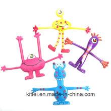2016 New Monster Bendables Figura Bendable brinquedos para crianças