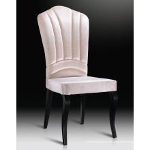 Weiße Farbe Stoff Stahl Bein Hotel Stühle Bankett Stühle