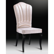 White Color Fabric Steel Leg Hotel Chairs Banquet Chairs