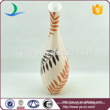 Keramik Vase Pflanzendes Design