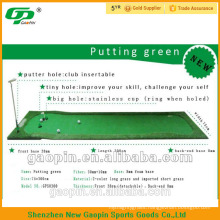 Nylon artificial grass/synthetic turf /artificial lawn putting green for golf