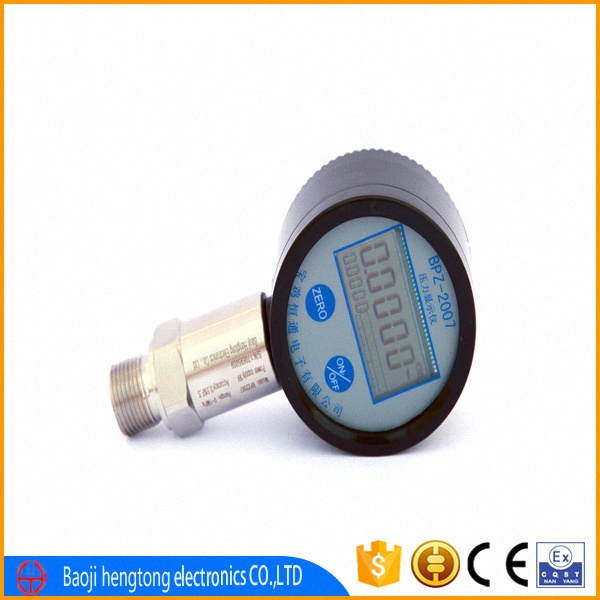 liquid digital pressure gauge