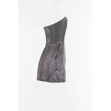 Nylon shiny jumper with short pant