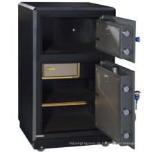 SteelArt big size Banktresor Tresorschrank mit 2 Türen und Fingerprint