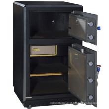 SteelArt tamanho grande cofre banco pesados dois doorpring cofres armários