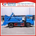 dongfeng kingrun 8cbm capacity of pendulum garbage truck