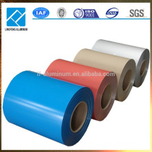 China Hot Sale Color Coated Alumimum Coil