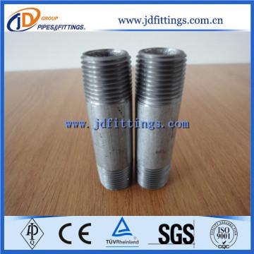 Galvanized Carbon Steel NPT Thread Pipe Nipple
