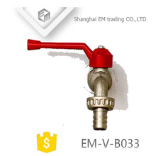 EM-V-B033 All size OEM chromed single handle brass bibcock