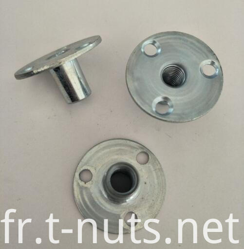 3/8 round bases steel t-nuts
