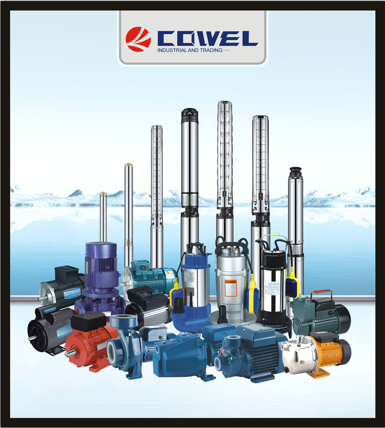 High Pressure High Flow Deep Well Submersible Water Pump