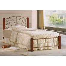 Wooden Classic Einzelbett, Schlafzimmermöbel