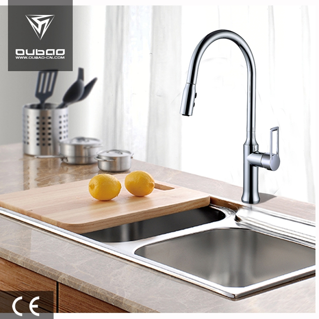 Single Hole Kitchen Sink Faucet Ob D41