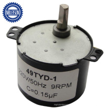 12rpm AC Reversible Synchronous Geared Motor 24V