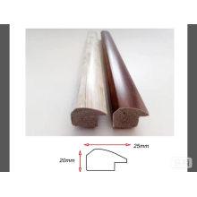 moldeado de madera marco de imagen de plástico de grano
