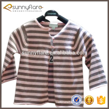 factory wholesale 100% cashmere knitted children sweater cardigan