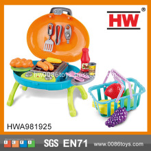 Funny Outdoor Play Set BBQ Kids Plastic Kitchen