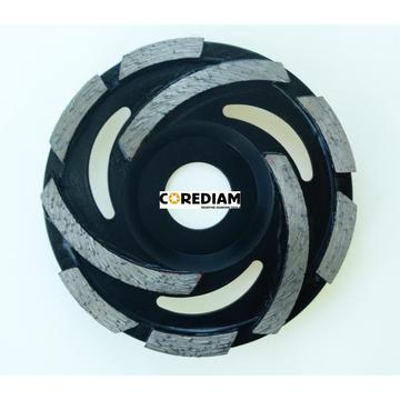 High Efficiency Cyclone Diamond Grinding Disc