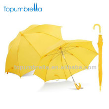 19 inch 8k yellow straight small umbrella for kids