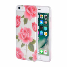 IMD Rosy Anti-yellowing TPU Kes untuk iPhone6 ​​Plus