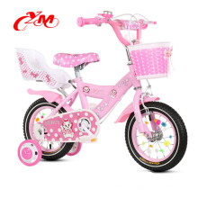 En acier matériau 14 pouces vélo de ville avec un design de mode / Rose 4 roues bicicle vélo enfants / Xingtai usine Yimei enfants vélo