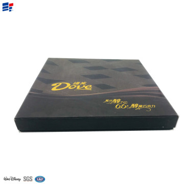 Kraft paper chocolate lid packaging box