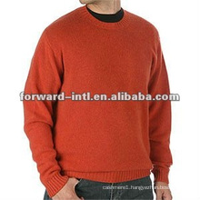 men cashmere pullover crew neck