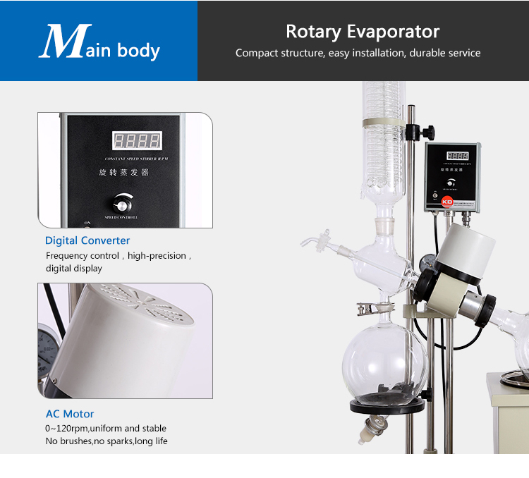 Multi-Function Mini Rotary Evaporator Price