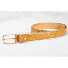 women fashionable PU waist belt for dress