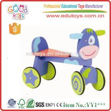 Yiwu China Hot Sale Novo Dushi Ride On Toy Wooden Walking Bike for Wholesale