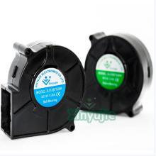 Ventilateur de ventilateur de mini 75X74X30mm 7530 75mm en plastique 12V 24V facultatif
