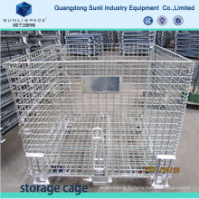 Galvaniser la cage de stockage soudée de maille soudée