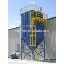 Máquina de filtración de polvo de acero inoxidable en filtro industrial