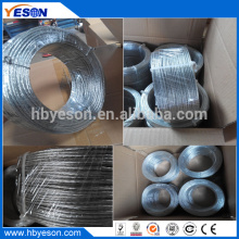 7 wires twisted high tensile high strength multistrand galvanized wire