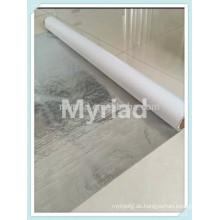 Metallisierte Polyesterfolie / reflektierende Mylar, reflektierende und silberne Dachmaterialien