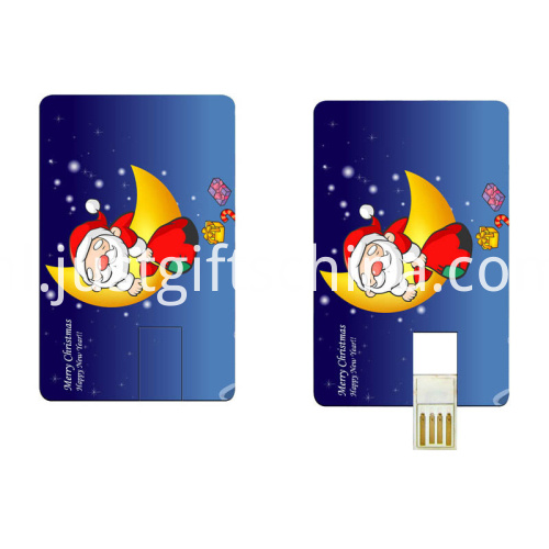 Promotional Plastic Card USB Flash Drive3