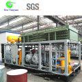 Compresseur à gaz de remplissage à cylindre CNG à faible bruit à démarrage progressif