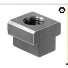 DIN508 Нержавеющая сталь T-образные гайки