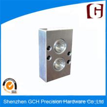 Nuevo diseño personalizado pieza de maquinaria de precisión de acero 12L14