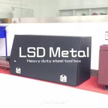 Metal de caja de herramientas de cama de camión personalizado para camión Metal de caja de herramientas de cama de camión personalizado para camión