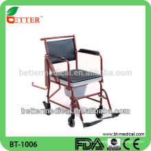 flip up armrest Steel Commode Chairs