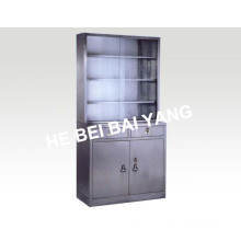 (C-6) Stainless Steel Medicine Cabinet with Drawers