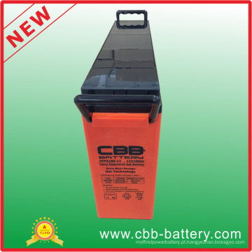 SLA Gel Front Terminal Battery / Especial para uso solar / Longo ciclo de vida / excelente desempenho 12V180ah
