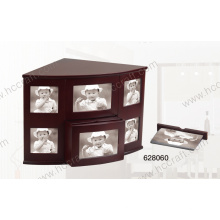 Nouvelle boîte en bois d'album photo pour cadeau