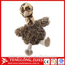 Yangzhou fábrica brinquedo de avestruz de pelúcia, brinquedo de pelúcia de avestruz